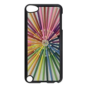 DIY Cover Case with Hard Shell Protection for Ipod Touch 5 case with Fashion Print Plastic lxa#283335 by icecream design