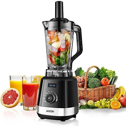 Aicok-Blender-Blender-Professionnel-Mixeur--Haute-Puissance-1500W-Idal-pour-Smoothies-Milkshakes-Fruits--coques-2L-Jarre-Tritan-Sans-BPA-et-6-Lames-en-Acier-Auto-nettoyage