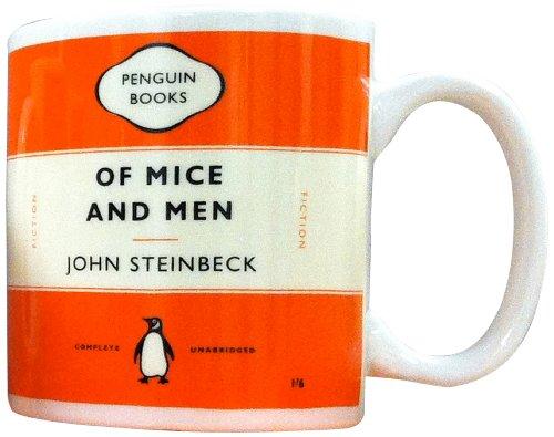 Penguin Mug: Of Mice and Men (Orange)
