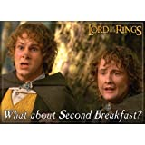 1 X Lord of the Rings - Second Breakfast - Refrigerator Magnet