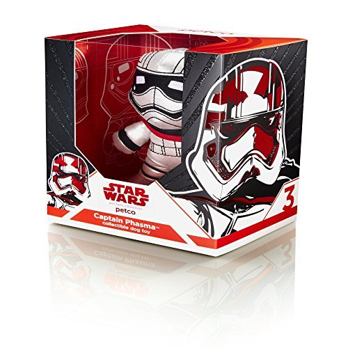 Star Wars Captain Phasma Collectible Dog Toy (Captain America Boot Covers)