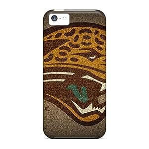 JamieBratt Iphone 5c Protector Hard Phone Case Customized HD Jacksonville Jaguars Image [sqk8110dtRM]