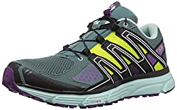 Salomon Women's X-mission 3w Trail Running Shoe, North Atlantic, 9 M Us