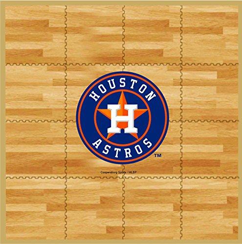 Rug Floor Astros Houston - MLB Houston Astros MLB 8-foot by 8-foot Fan Floor, Tan, 8-foot x 8-foot