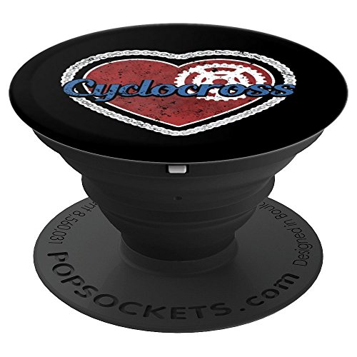 Love Cyclocross Chain Crank Mountain Bike Chain Cyclist - PopSockets Grip and Stand for Phones and Tablets