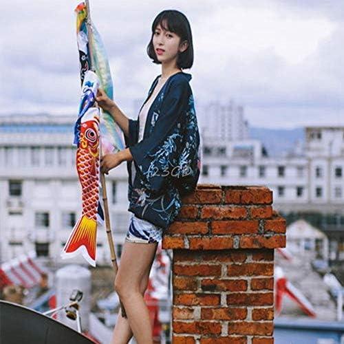 壁の装飾をぶら下げ美しい55センチメートルこいのぼり鯉風ソックスカラフルな魚の旗 AMINIY (Color : 1)