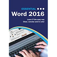 Essential Word 2016 (Computer Essentials)