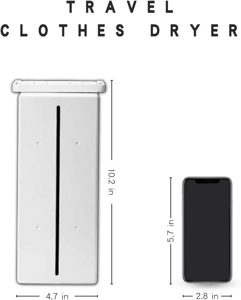 KASYDoFF - Secador de ropa portátil plegable de 3 niveles, ahorro de energía (Anion) 1,7 metros, temporizador automático digital con mando a distancia para casa de apartamentos