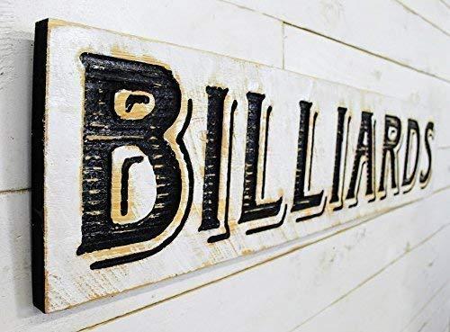 Billiards Sign Horizontal - 48