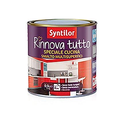SMALTO RINNOVA TUTTO - 1 L - SYNTILOR SPECIALE CUCINA BIANCO: Amazon ...