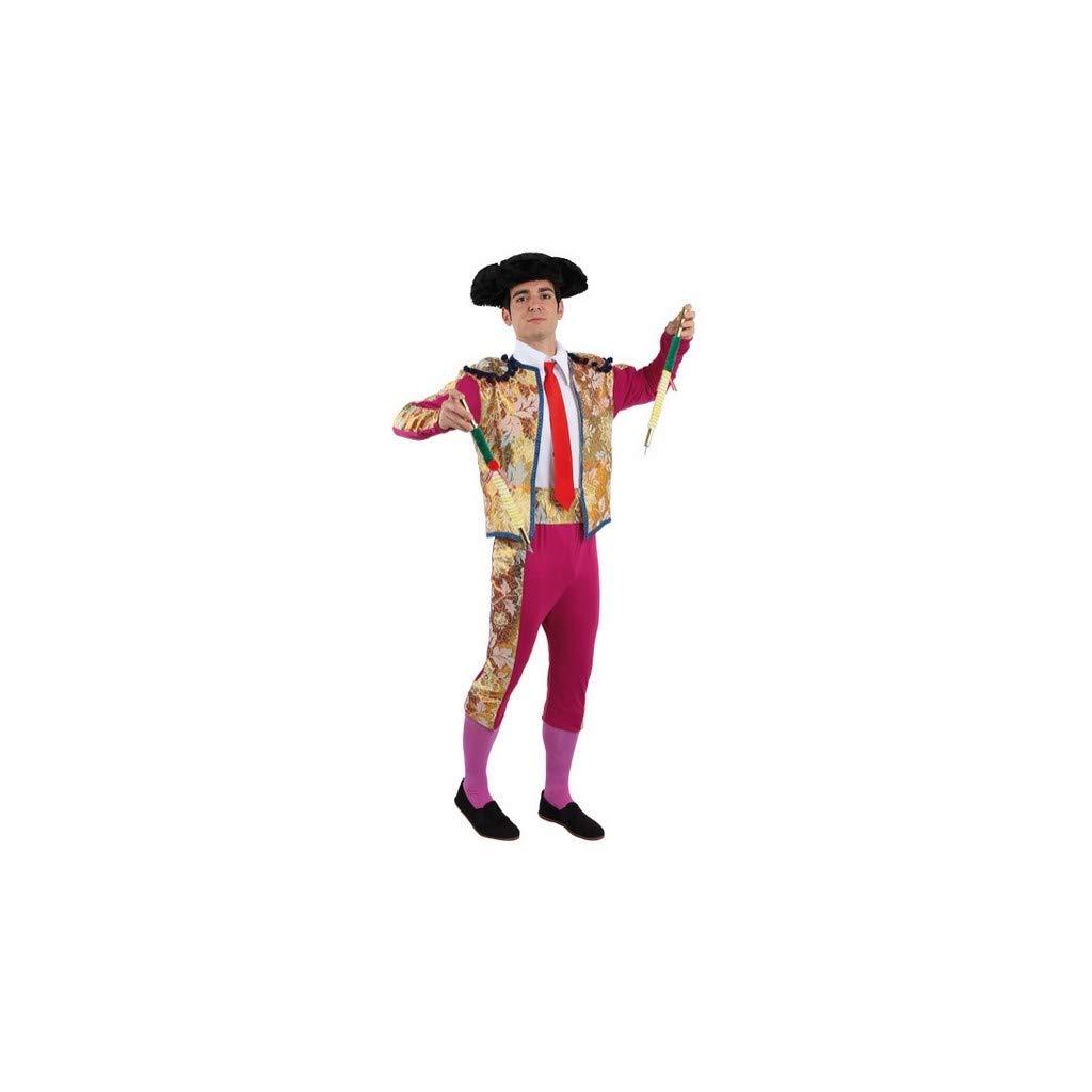 Disfraces FCR - Disfraz de torero de luces talla 48: Amazon ...