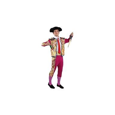 Disfraces FCR - Disfraz de torero de luces talla 48: Amazon.es ...