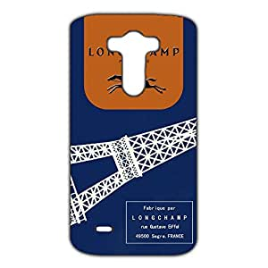 Longchamp Horse Logo Back Cover For Htc One M7 3D Hard Plastic Case