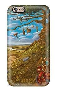 Iphone 6 The Magical Car Print High Quality Tpu Gel Frame Case Cover