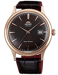 """ORIENT """"Bambino 4"""" Classic Automatic with Hand Winding Rose Gold Watch FAC08001T"""