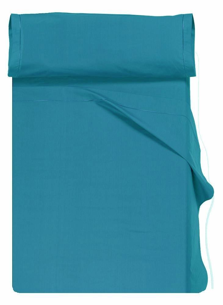 Home Royal - Juego de sábanas compuesto por encimera, 250 x 285 cm, bajera ajustable, 158 x 200 cm, 2 fundas para almohada, 45 x 85 cm, color grafito: ...