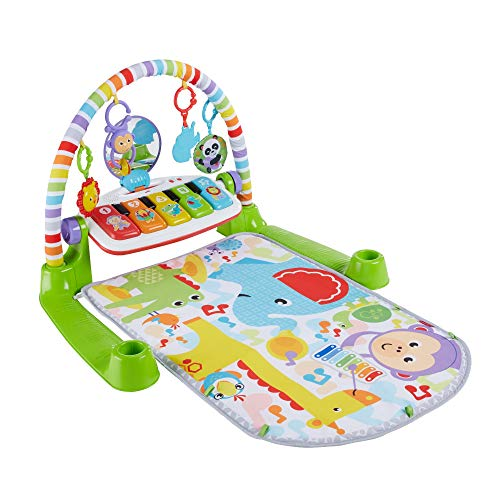 Fisher-Price Deluxe Kick n Play Piano Gym, Green, Gender Neutral Frustration Free Packaging