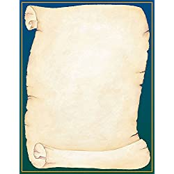 """Great Papers! Scroll Letterhead, 8.5""""x11"""", 80 Count (2014338)"""