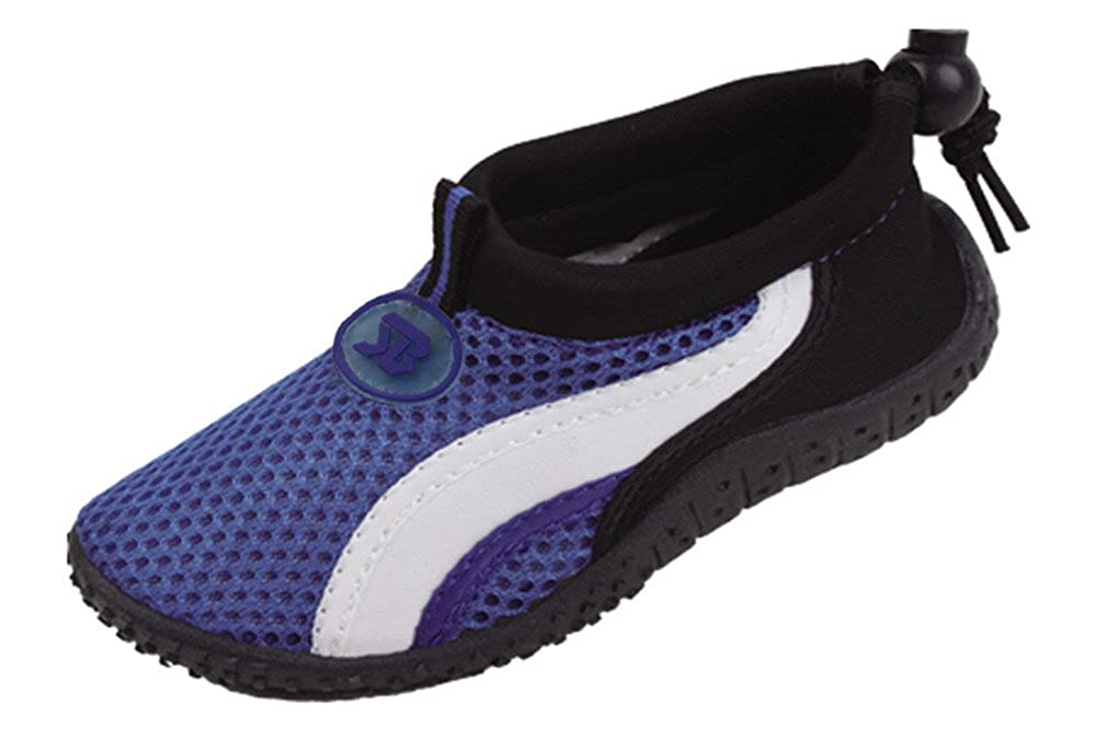 Cambridge Select Kids Mesh Quick Dry Drawstring Water Shoe Little Kid//Big Kid