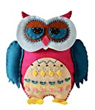 Art Craft Kits for Girls : Sewing Mini Kit for Kids, Wise Owl Project, Creative Fun and Educational Encouragement Your Child Will Love - Create A Lasting Memorable Experience to Cherish