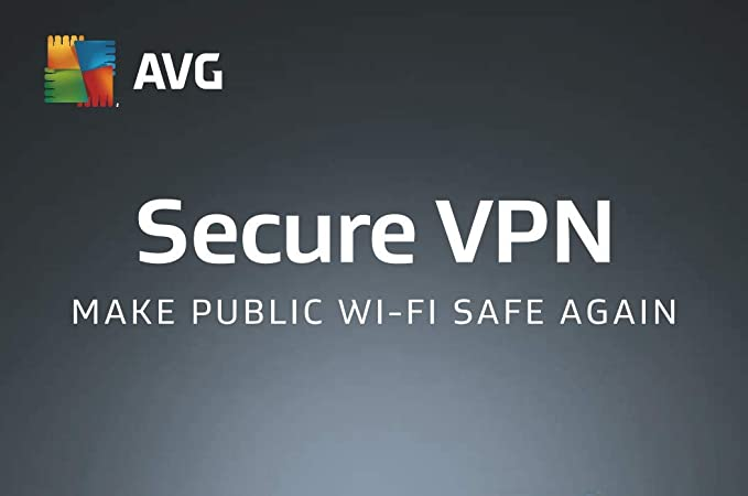 AVG Secure VPN 2019 - 1 PC 1 Year|2019 Windows Edition|1 Device|1  Year|PC|Download