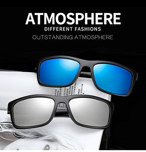 400 Mujer Gafas C para Aviator D UV Protección Sol Polarizadas De Hombre para FgAwvp