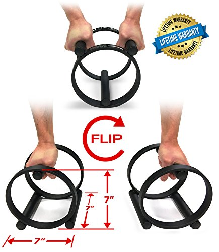 P Fit Push Up Bars + Balance + Stretch (Set of 2) / Prodigy Fit