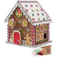 HearthSong Wooden Gingerbread Advent Calendar House