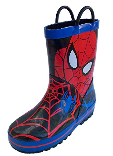 Disney Spider-Man Rain Boot (Toddler/Little Kid), Red, 10 M US Toddler