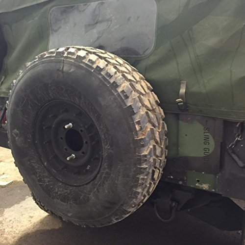 USED ORIGINAL HUMVEE (TM) USED USED MOUNTED SPARE TIRE M998 Rim Included by Federal Military Parts