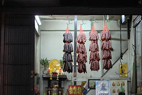 Quality Prints - Laminated 36x24 Vibrant Durable Photo Poster - Peking Duck Food Travel Bangkok Thailand Cuisine Asian Oriental Roast ()