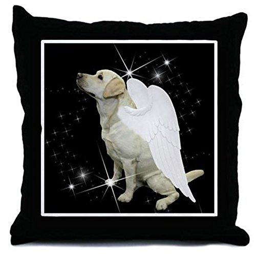 CafePress - Yellow Lab Angel Throw Pillow - Throw Pillow, Decorative Accent Pillow