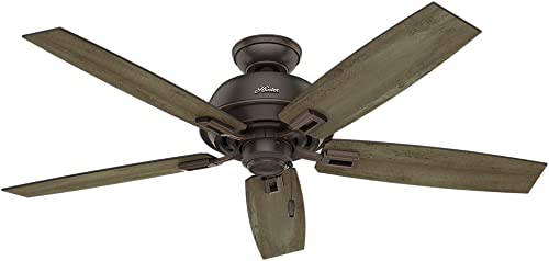 Hunter Fan Company Hunter 54167 52″ Donegan Onyx Bengal Ceiling Fan