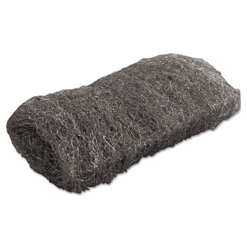 GMT117004 - Industrial-quality Steel Wool Hand Pad, 1 Medium, 16 Per Pack by GMT (Image #1)