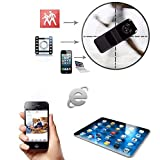 Lentenda Mini Remote SPY Camera for Iphone Android Ipad Pc Mini Wifi Ip Wireless Spy Surveillance Camera Remote...