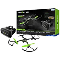 Sky Viper V2400 2.4GHz HD Streaming Drone with FPV Headset
