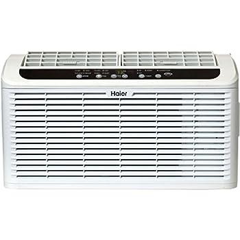 Haier ESAQ408P Serenity Series 8000 BTU 115V Window Air Conditioner with LED Remote Control
