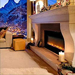 Wonlink Electric Fireplace Heater 3 Element 1500W Portable