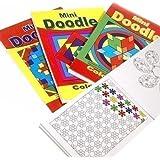 6 x Mini Doodle Coloriage Livres Idéal Fête Sacs