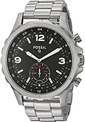 Fossil Q Nate Gen 2 Men's Stainless Steel Hybrid Smartwatch Ftw1123