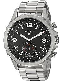 Smartwatch Híbrido Fossil Q Nate FTW1123 Plata