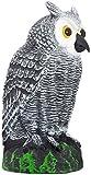 Scarecrow Fake Owl Decoy - Pest Repellent Garden Protector – (small)