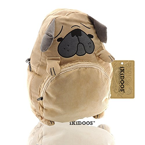 iKidoos Full Size Light Dog kids school backpack boys and girls School full size backpacks bags by iKidoos®