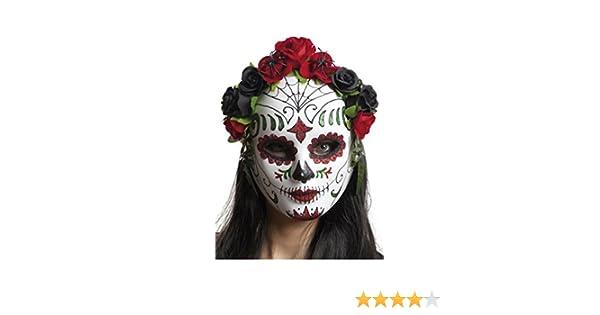 My Other Me Me-203556 Máscara catrina flores mujer, Talla única ...