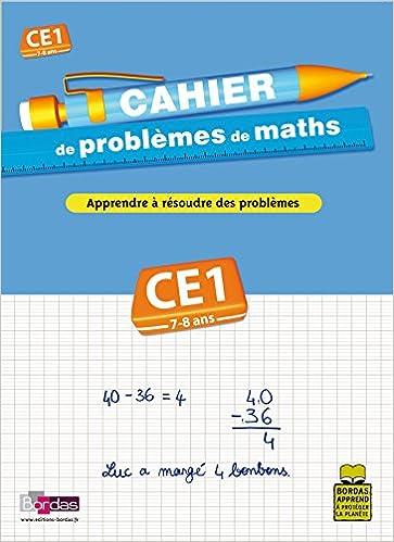 Livre CAHIER PROBLEMES DE MATHS CE1 pdf, epub ebook