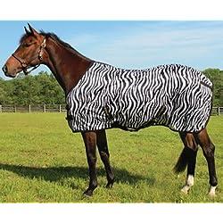 TuffRider Zebra Mesh Fly Sheet 75