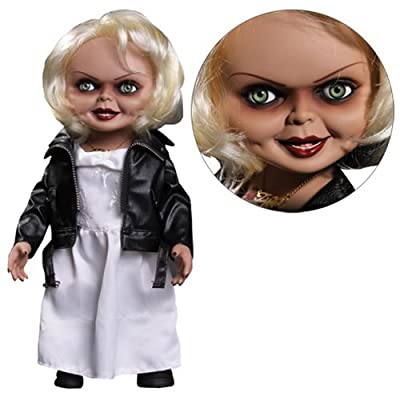 "Mezco Bride of Chucky Tiffany 15"" Talking Doll Standard: Toys & Games"