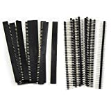 #10: 20PCS 2.54mm Breakaway PCB Board 40Pin Male and Female Header Connector for Arduino Shield