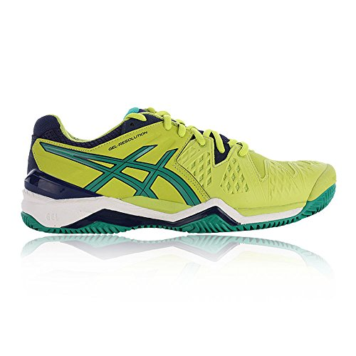 Asics Gel-resolution 6 Clay, Scarpe Da Tennis Da Uomo Verdi