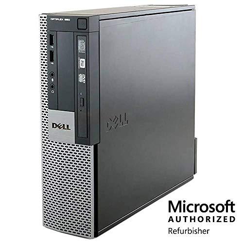 Dell Optiplex 980 Desktop Computer Package, Intel Core i5 3.2 GHz, 8GB RAM, 500GB HDD,Keyboard/Mouse,DVD,Windows 10 (W10 Home, 8GB RAM, 500GB HDD) (Renewed)